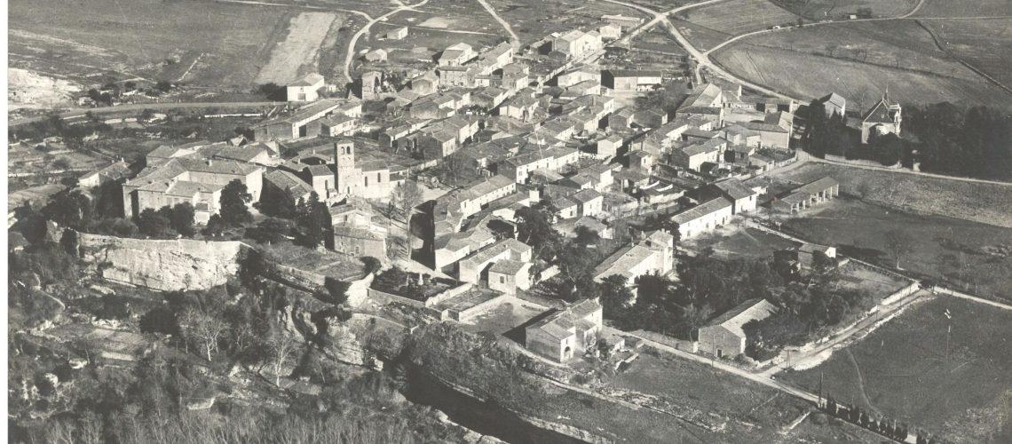 village vu du ciel années1930