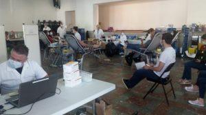 Succès pour le don du sang