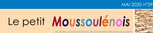 le Petit Moussoulénois à partir du 21 mai dans vos boîtes aux lettres