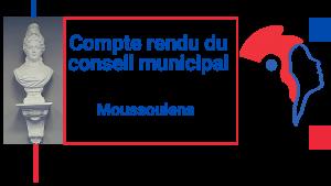 les comptes rendus officiels du Conseil Municipal sont en ligne