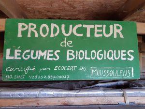 le Festin d'Élian producteur de légumes Bio