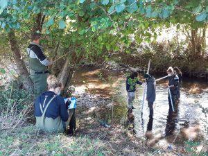 Une formation à l'échelle nationale sur la caractérisation morphologique des rivières a eu lieu à Moussoulens