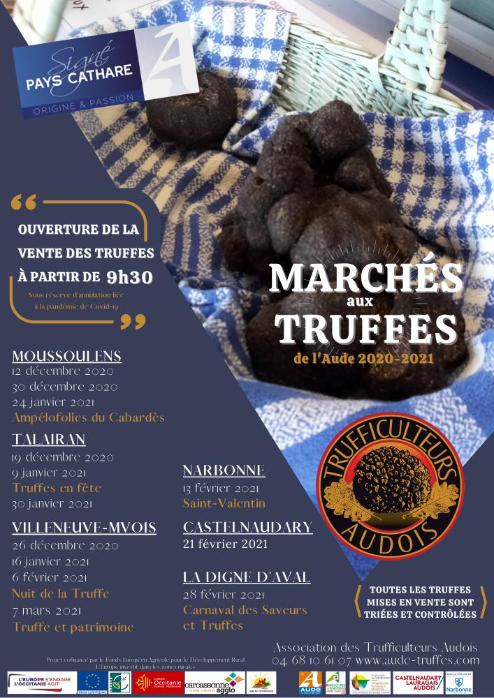 marché truffes